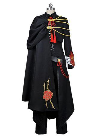 Code Geass Lelouch of the Rebellion Schwarz Uniform Cosplay Kostüm