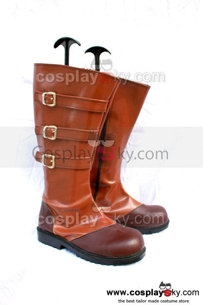 Devil May Cry 4 Nero Cosplay Stiefel Schuhe