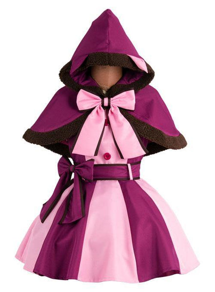 Alice In Wonderland Cheshire Matze Kleid Cosplay Kostüm