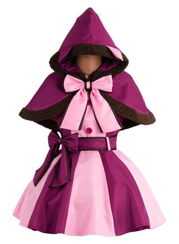 Alice In Wonderland Cheshire Matze Kleid Cosplay Kostüm - cosplaycartde