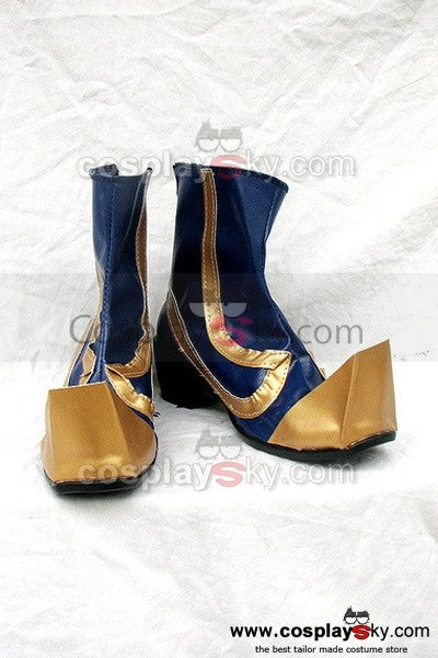 Dynasty Warriors 4 Si Mayi Cosplay Stiefel Männlich Version