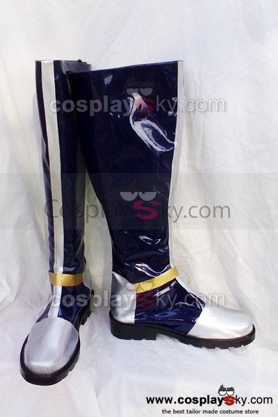 Dynasty Warriors Cao Pi Cosplay Stiefel Schuhe