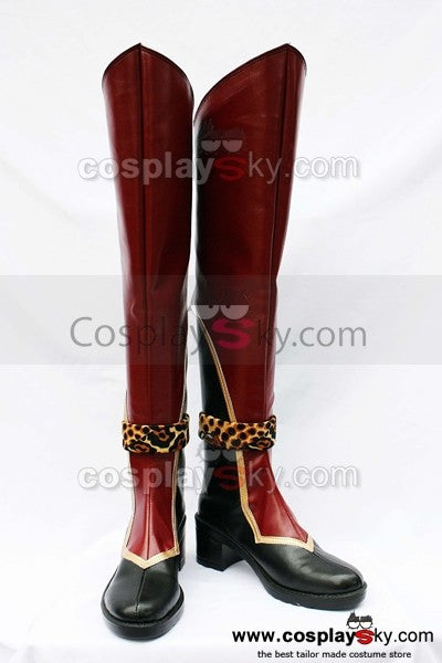 Dynasty Warriors Sun Ce Cosplay Stiefel Schuhe
