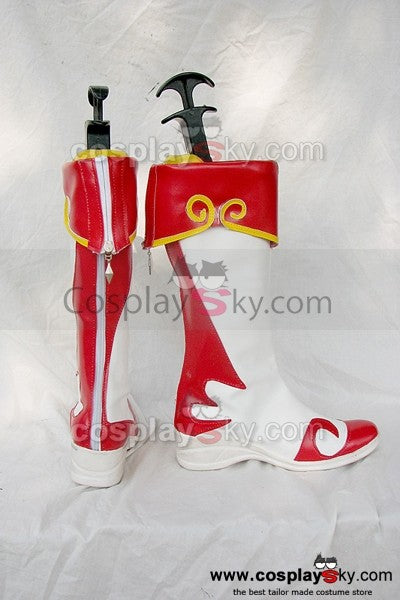 Dynasty Warriors Xiao Qiao / Shou Kyou Cosplay Stiefel Schuhe