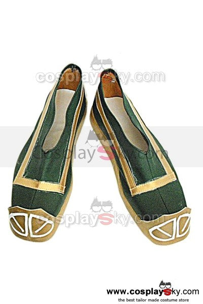 Dynasty Warriors Yunchang Guan Yu Cosplay Schuhe