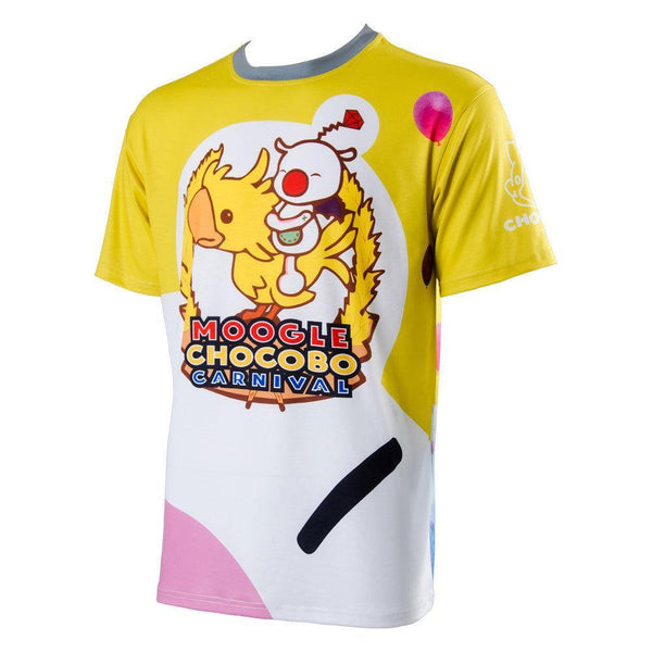 Final Fantasy 15 FF15 Noctis Carnival Moogle Chocobo T Shirt Cosplay Kostüm