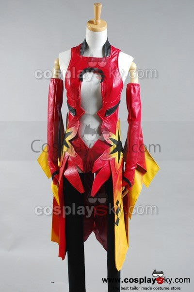 Guilty Crown Inori Yuzuriha Cosplay Kostüm