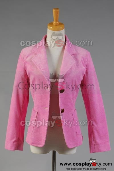 Harry Potter and the Goblet of Fire Hermione Granger Rosa Corduroy Blazer Kostüm