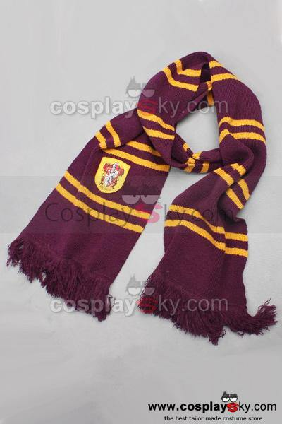 Harry Potter Gryffindor House Thicken Scarf Schal Requisite
