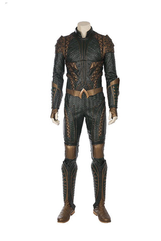 Justice League 2017 Film Arthur Curry Aquaman Outfit Halloween Cosplay Kostüm - cosplaycartde