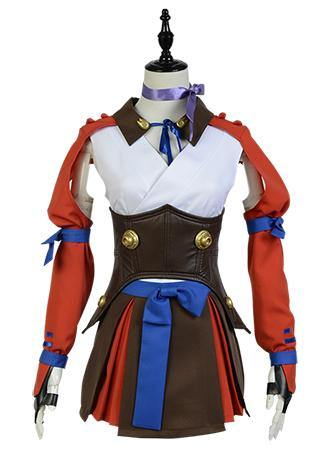 Kabaneri of the Iron Fortress Mumei Battle Anzug Cosplay Kostüme(Kein Knieschützer) - cosplaycartde
