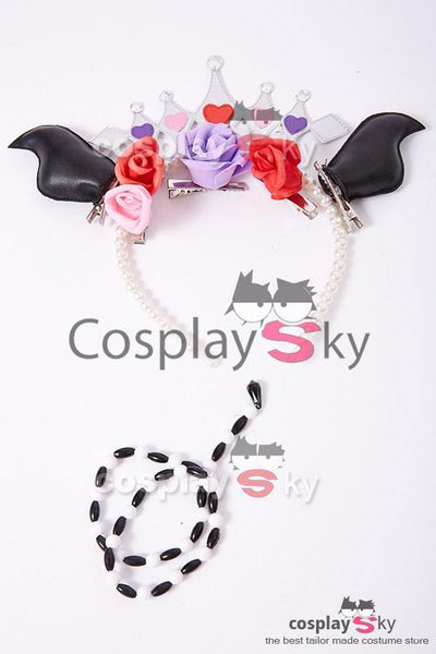 Love Live! New SR Rin Hoshizora Little Devil Uniform Halloween Cosplay Kostüm - cosplaycartde