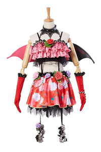 Love Live! New UR Nico Yazawa Little Devil Transformed Uniform Halloween Cosplay Kostüm - cosplaycartde