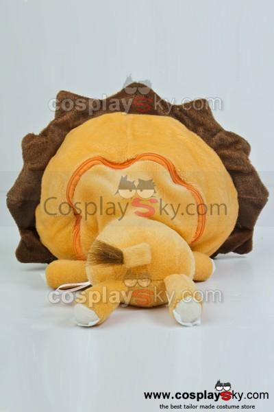 Lovely Bleach Lion Cartoon Plüsch Tissue Box