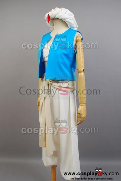 Magi: The Labyrinth of Magic Aladdin Cosplay Kostüm