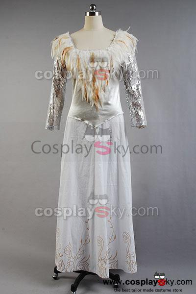 Oz The Great and Powerful Glinda Fancy Dress Cospaly Costume - cosplaycartde