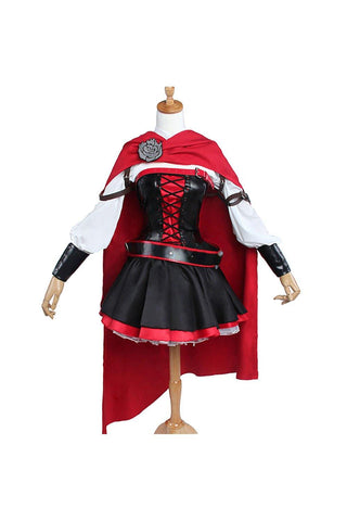 Ruby Rose RWBY Kampfanzug Uniform Cosplay Kostüm