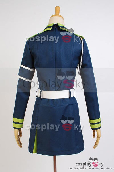 Seraph of the End Shinoa Hīragi Uniform Dress Cosplay Kostuem