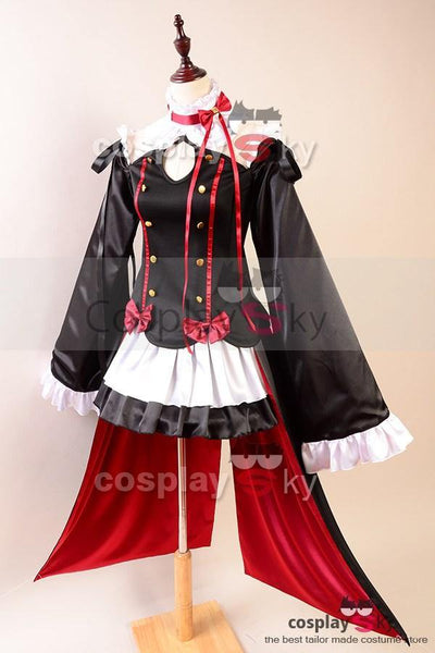 Seraph of the End Vampires Krul Tepes Uniform Cosplay Kostüm