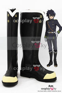 Yūichirō Hyakuya / Shinoa Hīragi Seraph of the End Stiefel Cosplay Schuhe - cosplaycartde