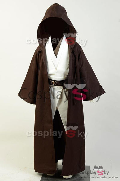 Star Wars Kenobi Jedi Cosplay Kostüm Kind Version