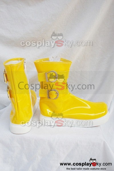 Tales of Destiny Chersea Tone Cosplay Stiefel Gelb