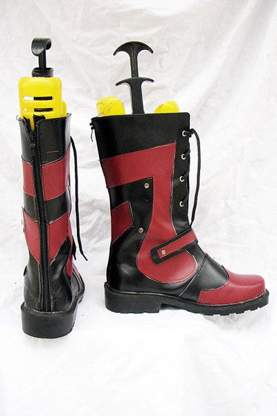Tales of the Abyss Luke fone Fabre Cosplay Stiefel Rot