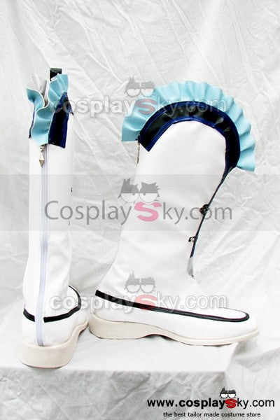 The Legend of Heroes Trails in the Sky Blblanc Cosplay Stiefel