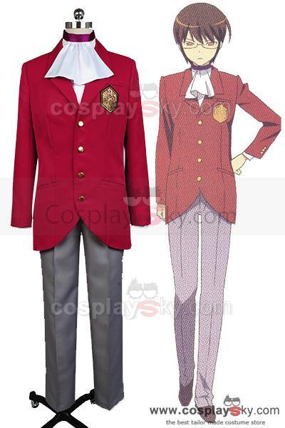 The World God Only Knows Keima Katsuragi Cosplay Kostüm Neu