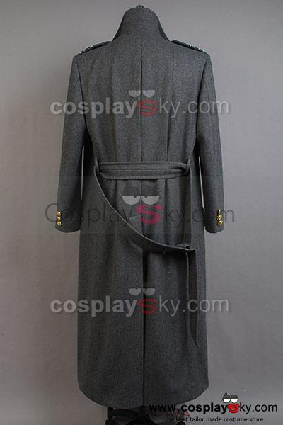 Torchwood Doktor Kapitän Jack Harkness Wollen Trenchcoat  Graue Version