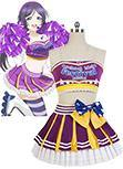Love Live! Cheerleaders Version Cosplay Kostuem Nozomi Tojo Uniform