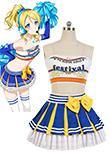 Love Live! Cheerleaders Version Cosplay Kostuem Eli Ayase Uniform