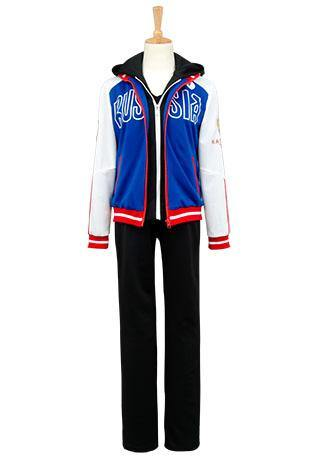 Yuri on Ice Yuri Plisetsky Uniform Cosplay Kostüm