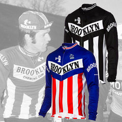 Maillot Long Eté Cycliste Vintage BROOKLYN