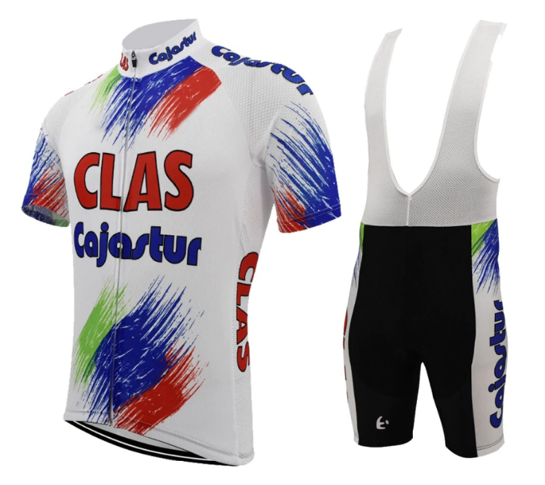 Maillot Cycliste & cuissard Vintage CLAS Tony Rominger