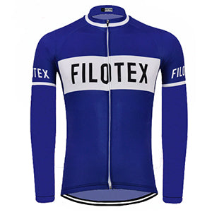 Maillot Cycliste Vintage Hiver FILOTEX