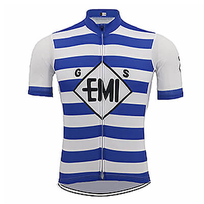 Maillot Cycliste Vintage GS EMI Charly GAUL