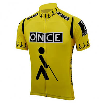 Maillot Cycliste VINTAGE ONCE Laurent Jalabert