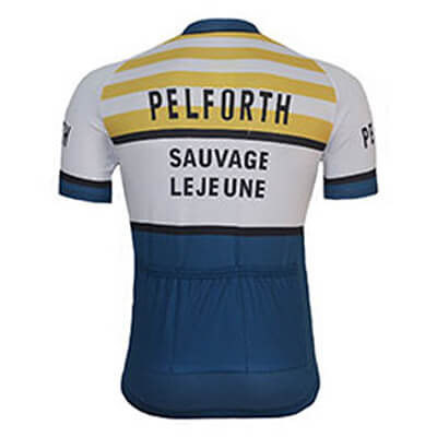 Maillot Cycliste Vintage PELFORTH Jan Janssen