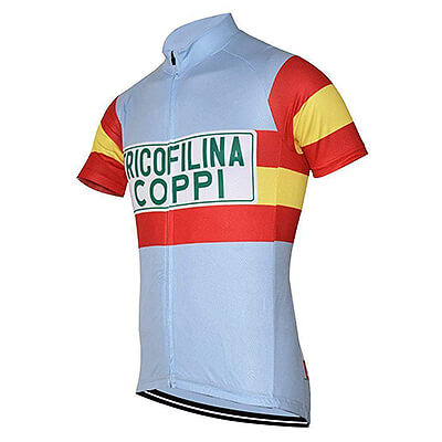 Maillot Cycliste Vintage TRICOFILINA COPPI