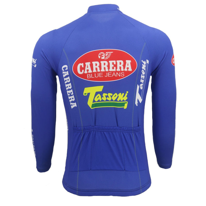 Maillot Cycliste Vintage Hiver CARRERA