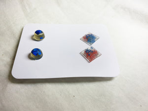 Blue Earring Pairs