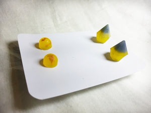 Yellow & Blue Earring Pairs