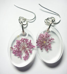 Dainty Violet Earrings