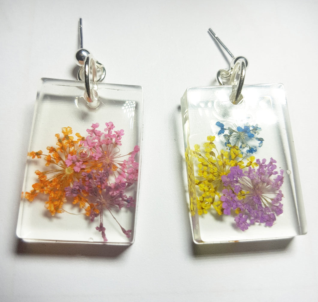 A Mixed Bouquet Earrings