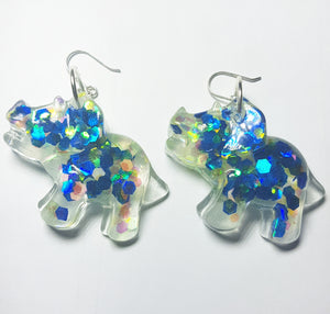Blueysaurus Earrings