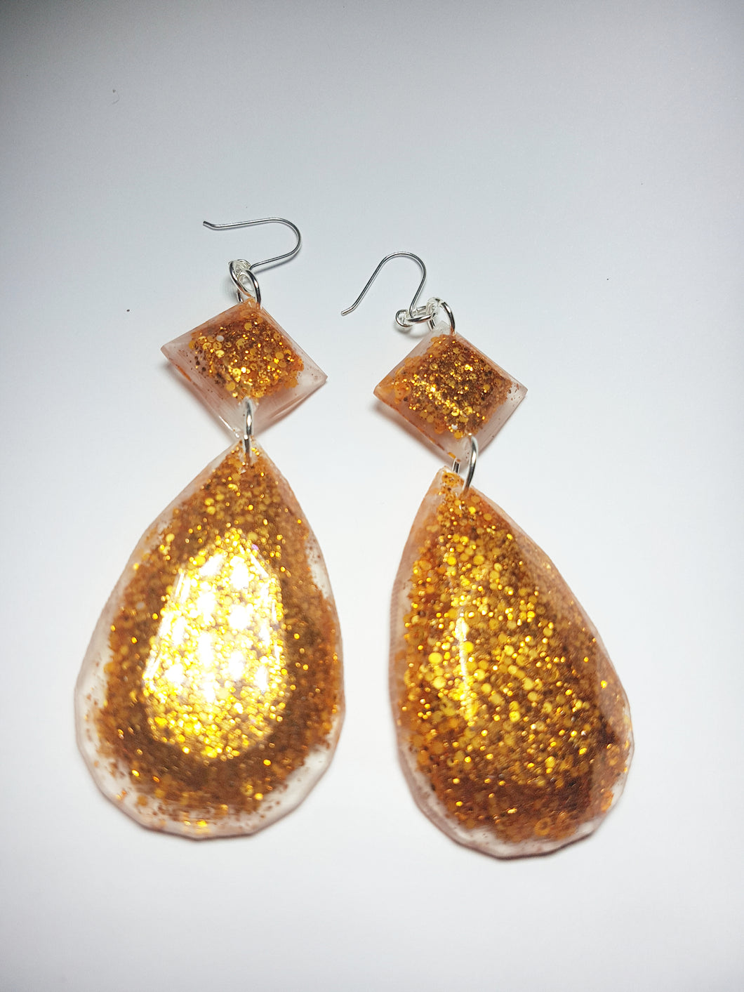 Honeycomb  Diva Statement Earrings