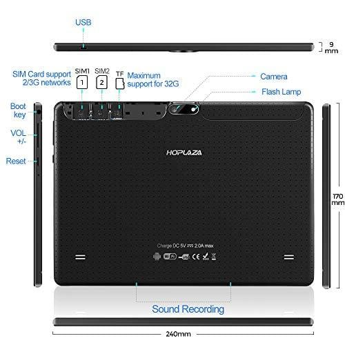 10 1 tablette tactile 3g android 8 processeur quad core double c