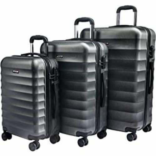 carryone ensemble de bagage a main 3 pieces avec roulettes pivotante