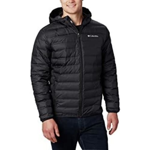 columbia lake 22 down hooded jacket homme